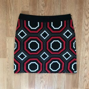 Ann Taylor Petite Embroidered Pencil Skirt